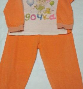 Пижама для девочки 86-92 размера