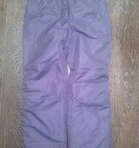 Демисезонные брюки для девочек. 116 рост.