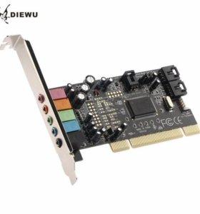 Звуковая карта DIEWU CMI8738 PCI-5.1