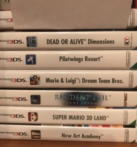 Игры для Nintendo 3ds