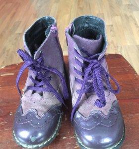 Ботинки осенние для девочки фирма Tempo размер 26