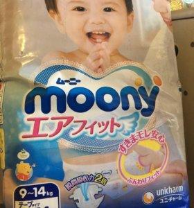 Подгузники-трусики МУНИ (moony)