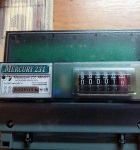 Электросчётчик Меркурий 231