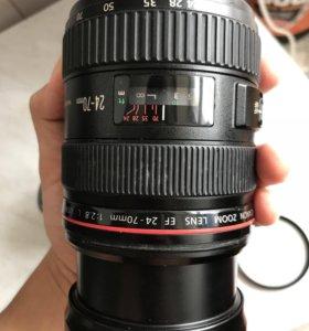 Объектив Canon EF 24-70 mm L 2.8F