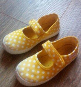 Мягкие туфельки 25 размера
