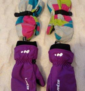 Перчатки детские зимние 3-4г