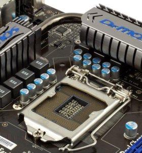 MSI P55-GD65 (LGA1156) + i5-650