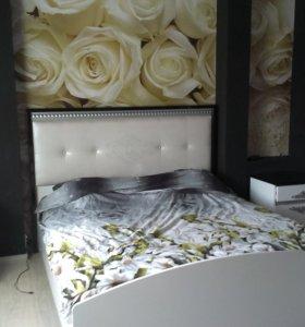 Кровать 160см Беллона с матрасом аскона