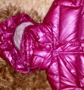 Куртка б/у зимняя,очень теплая