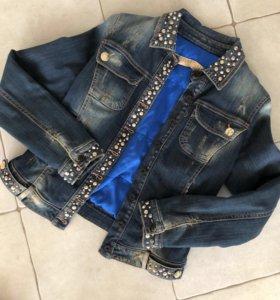 Итальянская джинсовая куртка ROSSODISERA🖤оригинал
