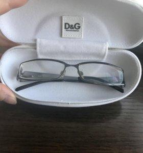 Очки оправа D&G