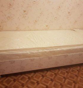 Продам одноместные кровати бокспринги