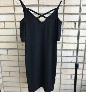 Платье чёрное новое
