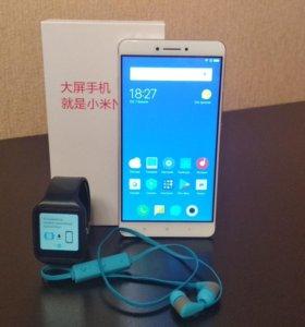 Xiaomi MiMax + sony smartwatch 3