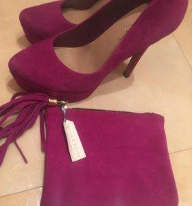 Туфли Jessica Simpson +клатч