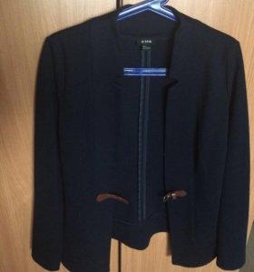 Пиджак синий