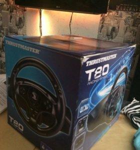 Руль Thrustmaster T80 для Playstation 3/4