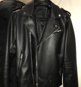 Кожаная куртка от Zara