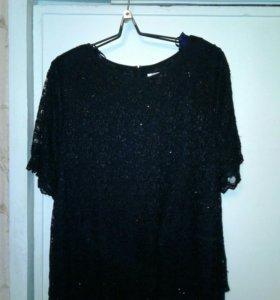Женское платье-черное