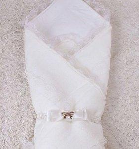 Конверт на выписку - одеяло 90*90 с резинкой