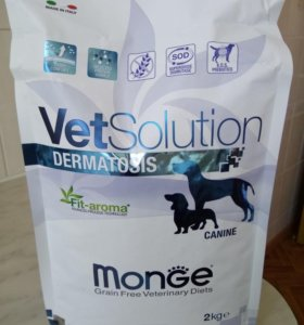 Корм для собак Monge Dermatosis