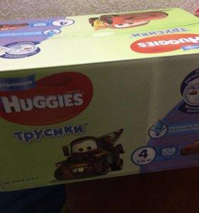 Трусики Huggies 4 (104шт) для мальчиков