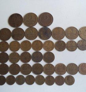 Монеты СССР 50-60-70-80-90 годов