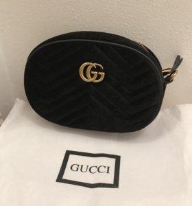 Сумка поясная Gucci velvet