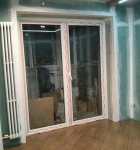 Утепление балконов, замена холодного остекления