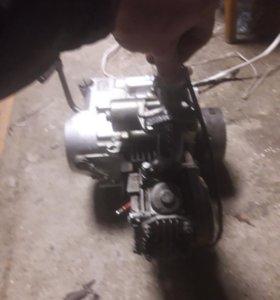 Двигатель на мопед альфа и.т.д.