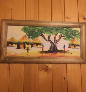 Картины из Ганы