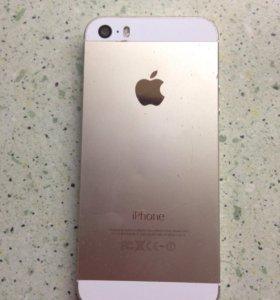 Айфон 5s золотой в рабочем состоянии! Обмена нет .