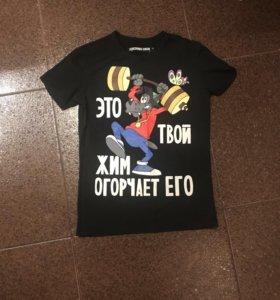 Футболка дизайнерская Денис Симачев /продажа/обмен