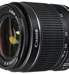 Обьективы Canon18-55/18-135/55-250is/75-300/50.1.4