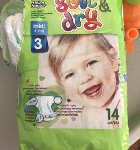 Подгузники детские 4-9 кг