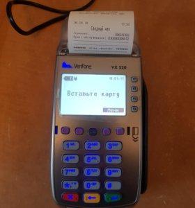 Терминал оплаты по картам VX520