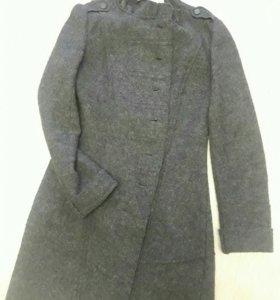 Новое шерстяное пальто