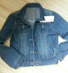 Новая куртка джинсовка