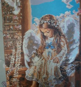 """Картина """"Девочка ангел"""""""