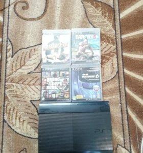 PlayStation 3 super slim 500гигобайт