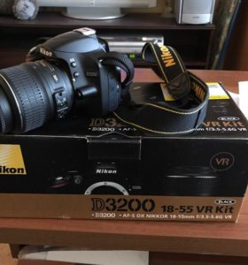 Зеркальный фотоаппарат Nikon D3200 18-55 kit