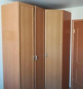 Шкаф угловой + два пенала