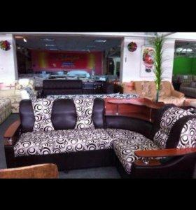 Новый угловой диван со склада