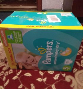 Pampers Active Baby 5 размер 111шт