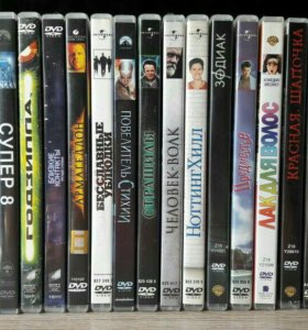 DVD диски (ЛИЦЕНЗИЯ)