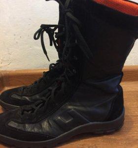 Ботинки Кожаные дышащие