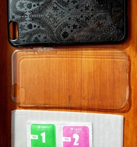Чехлы на iPhone 6s и защитное стекло