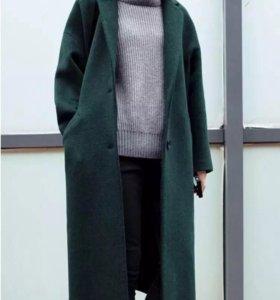 Новое пальто оверсайз!!!как на фото!