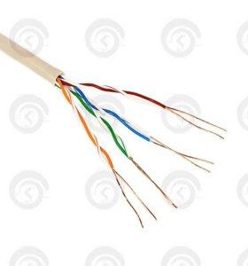 Интернет кабель (Сетевой кабель) 70 метров