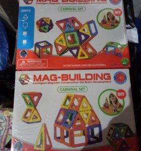 Магнитный конструктор 28 деталей